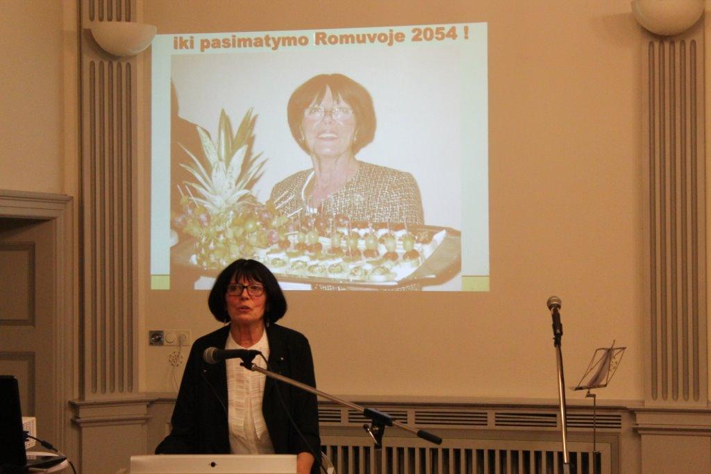 VLB darbuotojų suvažiavimo Hiuttenfelde 2014m.lapkričio 7-9d.  ir Romuvos apylinkes 60-ųjų įkūrimo metinių paminėjimo akimirkos