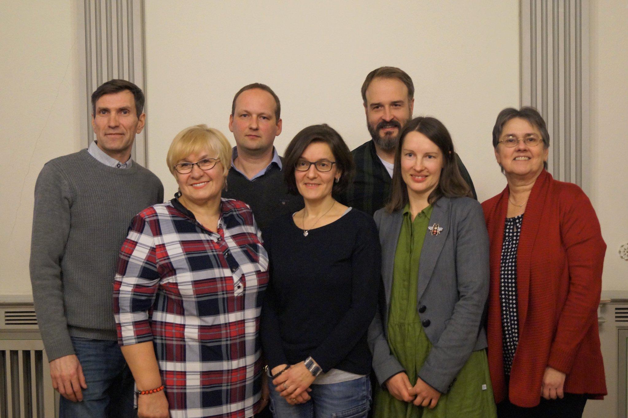 Išrinkta nauja VLB Romuvos apylinkės valdyba