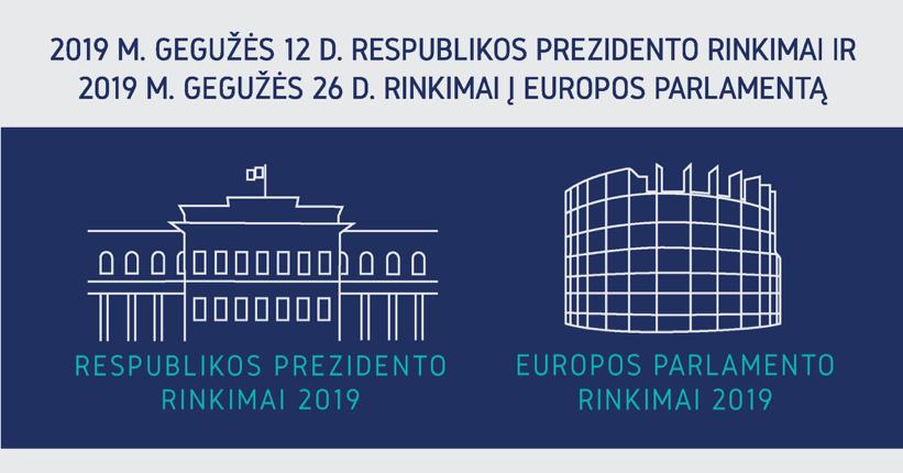 Rinkimai 2019 – Elektroninė rinkėjų, balsuojančių užsienyje, registracija