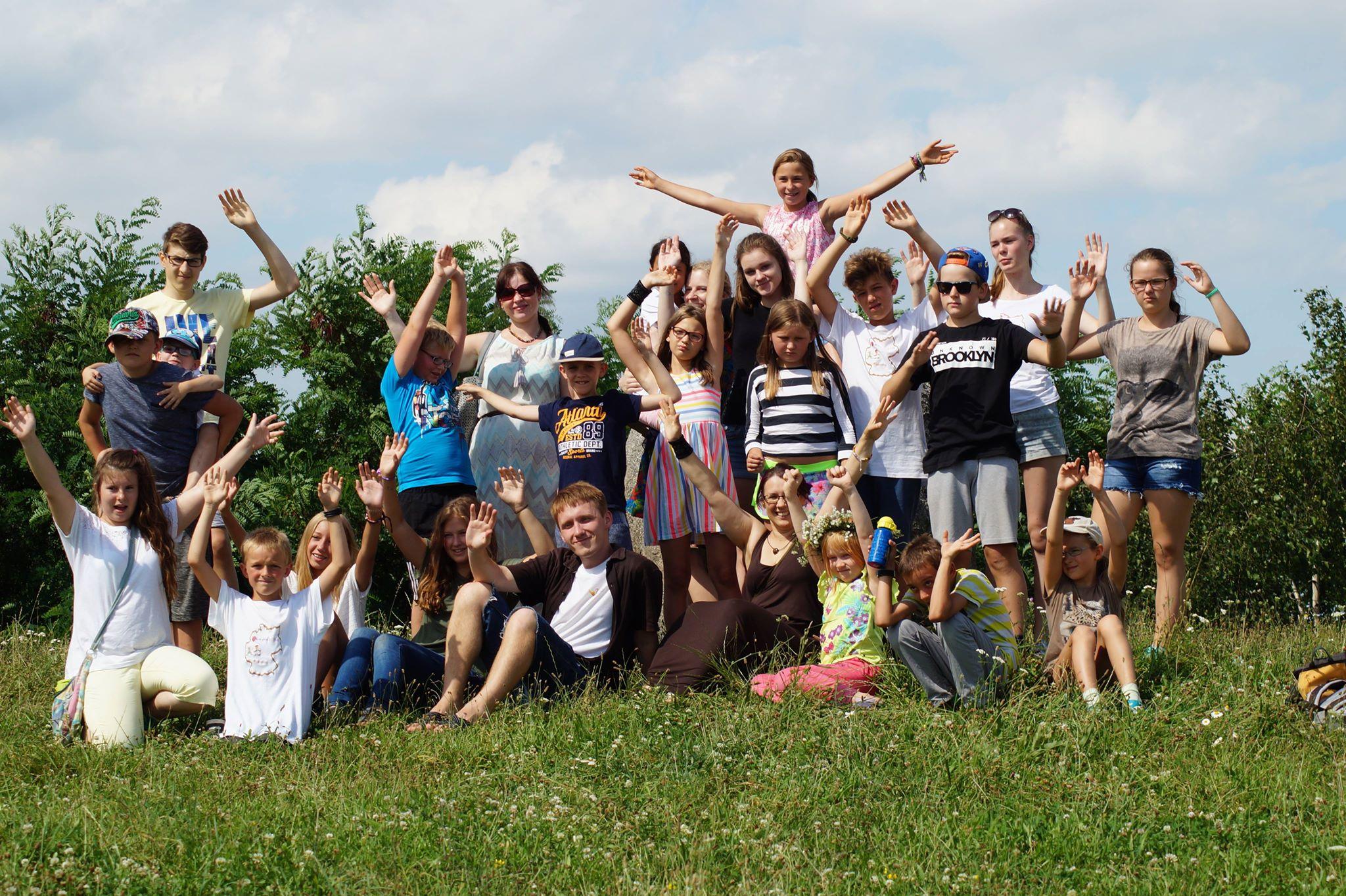 Vaikų vasaros stovykla Vasario 16-osios gimnazijoje Vokietijoje